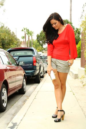WhiteBoy top - H&M shorts - Forever21 shoes - Aldo bag