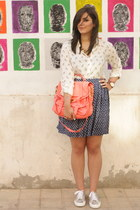 ps1 PROENZA SCHOULER bag - Zara top - Sportsgirl skirt - Superga USA sneakers