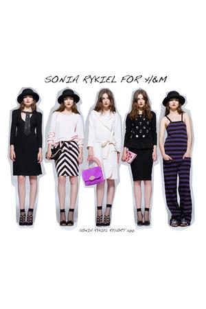 pink Sonia Rykiel for H&M skirt