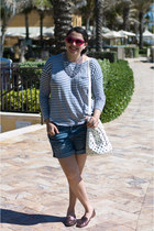 American Eagle shoes - Zara bag - American Eagle shorts