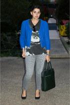 Zara bag - Current Elliott jeans - Comptoir des Cottonniers sweater
