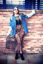 leopard print Shop Calico skirt