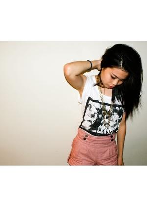 Topshop shorts - Forever21 shirt