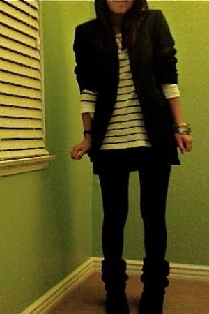 united colors of benetton blazer - Gap shirt - skirt - Nordstrom tights