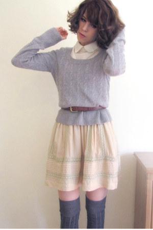 wool Country Road jumper - co market hq Mink Pink dress - merino wool asos socks