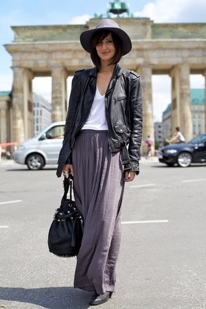 Alexander Wang bag - acne boots - Zara skirt - t by alexander wang top