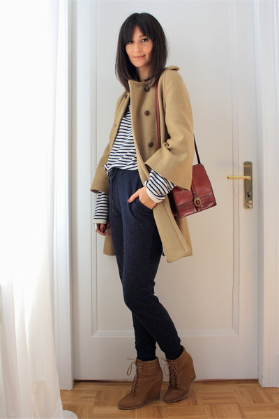 Zara coat - H&M pants