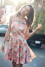 Coral-sugarlips-apparel-dress-nude-topshop-pumps