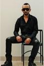 Black-leather-biker-steve-madden-boots-black-h-m-shirt-black-h-m-sunglasses