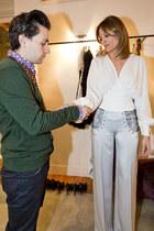 JORGE ACUÑA blouse - JORGE ACUÑA pants