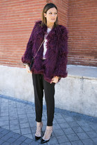asos coat - Valentino heels