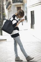 Zara dress - Zara jeans - & other stories bag - Diesel sunglasses