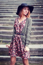 Choies-hat-h-m-boots-h-m-dress-h-m-cardigan-sheinside-ring