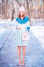 Chicwish-shirt-sheinside-necklace-front-row-shop-skirt-asos-heels