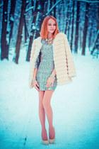 Chicwish coat - TFNC dress