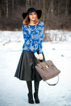 awwdore sweater - 31 Phillip Lim bag - awwdore skirt