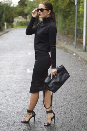 Chiara fashion skirt - Primark jumper - H&M sandals