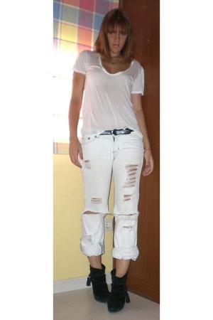 The Row shirt - Bershka jeans - Zara shoes