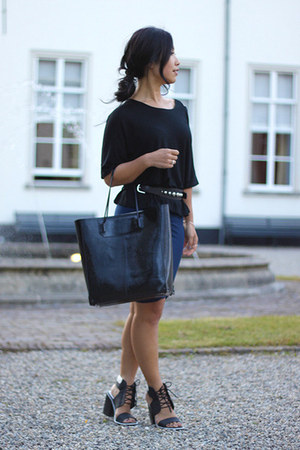 Mango belt - Alexander Wang bag - Senso sandals - Alexander Wang skirt