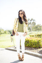 La Mer Collection watch - Rich & Skinny jeans - loversfriends blazer
