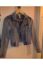 GinaTricot jacket - Zara shirt - GinaTricot skirt