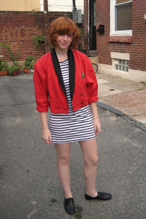 jacket - H&M dress - H&M shoes