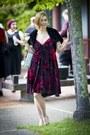 Burn-out-velvet-betsey-johnson-dress