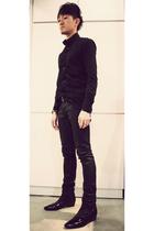 shirt - april 77 jeans - dior homme boots