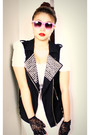 Forever-21-vest-forever-21-gloves-calliope-dress-forever-21-necklace