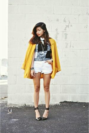 white Forever21 shorts