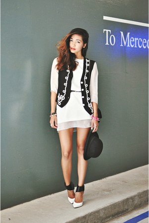 white sheer Choies dress