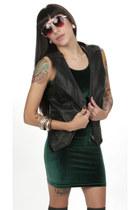biker babe hella vintage vest