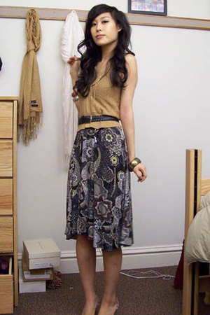 Urban Outfitters vest - Anthropologie dress