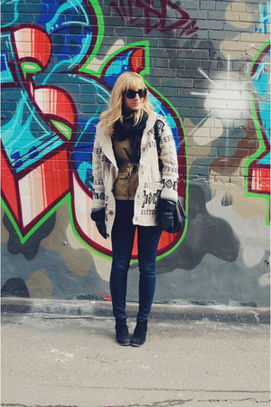 Dolce Vita boots - J Brand jeans - bloomingdales jacket