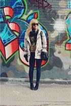 Dolce Vita boots - J Brand jeans - bloomingdales jacket