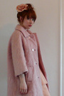 Pink-vintage-coat-pink-vintage-dress