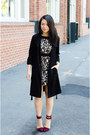 Lace-zara-dress-trench-hm-jacket-ankle-strap-lamb-heels