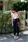High-waist-american-apparel-jeans-crossbody-rebecca-minkoff-bag