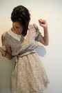 Beige-puff-and-stuff-dress