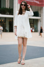 White-zara-coat-brown-vigoss-usa-sunglasses-tan-caroline-cree-sandals