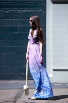 ombre maxi Addison dress - henry holland x le specs sunglasses