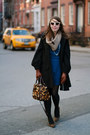 Blue-sugarlips-apparel-dress-black-banana-republic-coat-brown-brahmin-bag