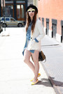 Black-fedora-urban-outfitters-hat-white-h-m-blazer