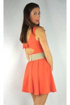 coral HCB dress
