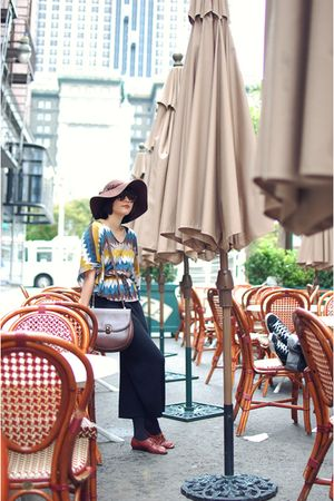blouse - skirt - hat