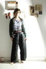 Forest-green-vintage-jacket-black-liviana-conti-pants-brown-zara-accessories