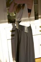 white flannel shirt - black Patterson J Kincaid skirt