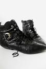 Black-vintage-blazer-red-forever21-skirt-black-vintage-boots-black-vintage