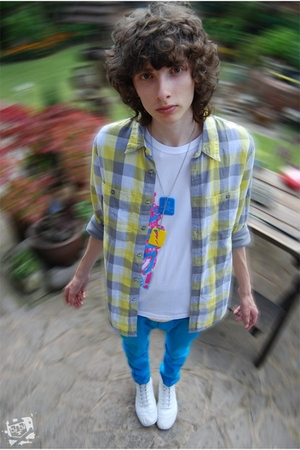 blue Bearpicniccom accessories - white Bearpicniccom t-shirt - yellow Topman shi