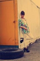 crissa jeans - Primadonna boots - Woman blazer - crissa shirt